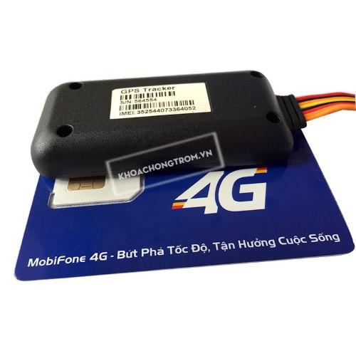 khoa chong trom xe may thong minh GPS Tracker T8