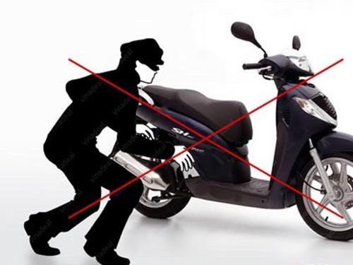 smartkey bảo vệ xe máy