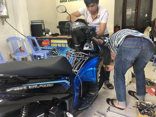 mua và lắp đặt smartkey tại Minh-T