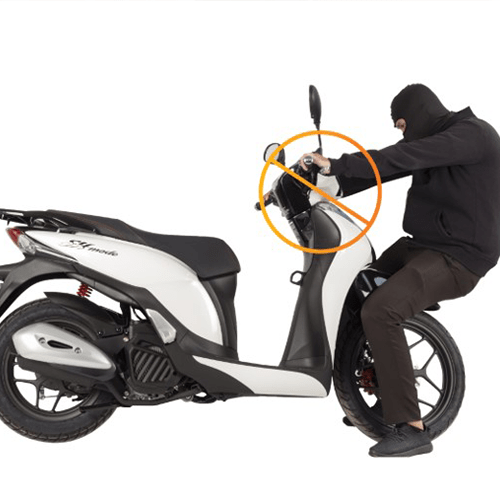 cách chống trộm xe máy