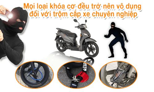 khóa chống trộm cho xe máy tay ga chống trộm