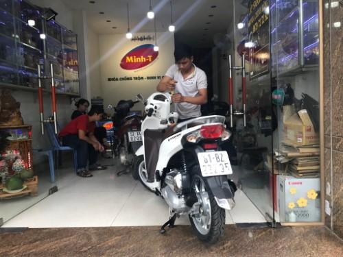 lắp smartkey honda tại Minh T